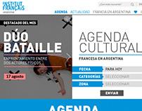 Institut Francais Argentine - Web+App
