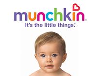 Munchkin Hair Accessories Packaging Design