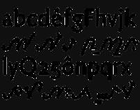 Carolinéale typeface