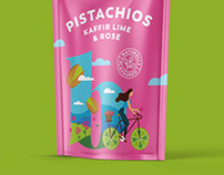 Packaging for Flavoured Pistachios