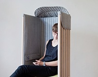 Offline chair blocks off mobile and WI-FI signals