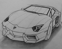 Automobile Sketching