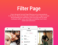 FILTER PAGE