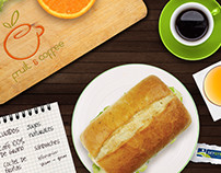 Fruit & Coffee Branding