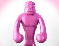 Designer-toy Pink Aäp