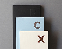 FINE PAPER SAMPLE BOOK COLLECTION - B, C, X