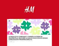 H&M Microsite