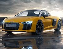 Audi R8 Spyder - Full CGI