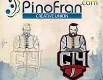 """Logo for ice-hockey team of """"Cich"""". In sport - the main"""