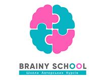 "Flyers development for ""Brainy School"""
