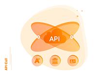 API call - Tech illustration!