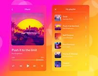 Miami Music. UI/UX