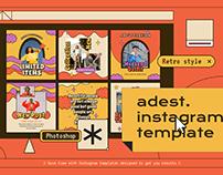 Adest Instagram Template
