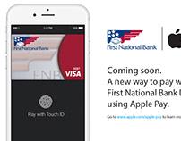 First National Bank | Indoor Digital