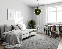 Scandinavian Apartment for BY Rydens #5