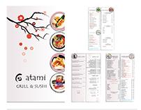 Atami Grill & Sushi Rebranding