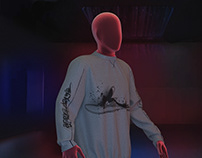 3D Graffiti Sweatshirt Project