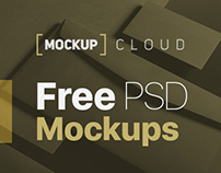 Free PSD Mock-Up's
