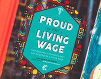KCMO Living Wage sticker