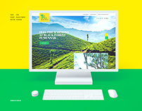 Munnar Black Forest Website Project
