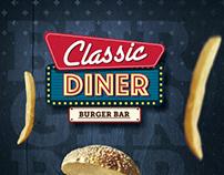 Classic Diner - Menú