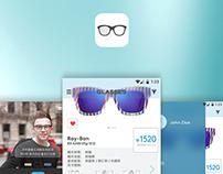 a glasses app