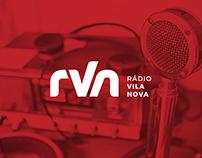 Branding Rádio Vila Nova