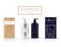 Cosmetic packaging Branding Mockup