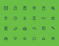 SVG icon design