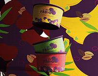 Redesign Branding Açaí do Fábio