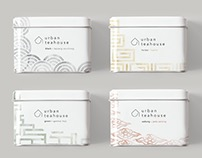 Urban Teahouse Branding