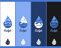 Gulps Logo Design