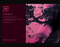 Indesign CC 2019 - Splash Screen Artwork