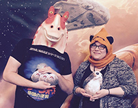 Star Wars Roar for Change Photo Booth & Props