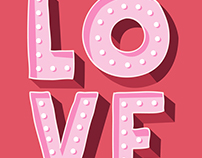 Valentine posters