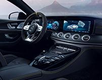 Mercedes-Benz AMG GT 63 S   CGI