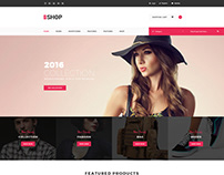 The Shop | Multipurpose e-commerce HTML Template