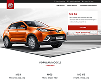 Morris Garage Website Redesign