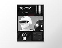 ADIDAFTPUNK - Poster