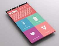 Verve Web/ UI Design