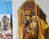 THE NUBIANS- handmade wallpapers