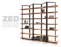 ZED - modular bookcase