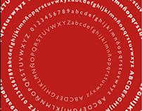 Especímen tipográfico Gill Sans