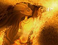 Golden marmaid