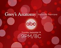 Grey's Anatomy styleframes