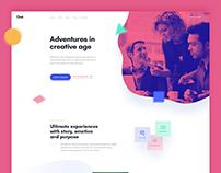 Design concept for Creative Agencies
