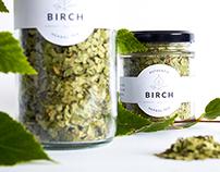 Birch Tea Identity