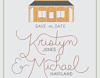 kristyn & michael save the dates