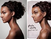 Digital paint studies (2017 summer)
