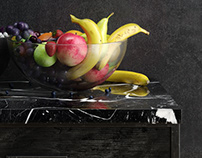 Still life corona renderer training